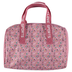 Bolso deportivo de bowling con estampado gráfico all over