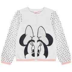 Chaqueta de punto con estampado de Minnie Disney y lunares