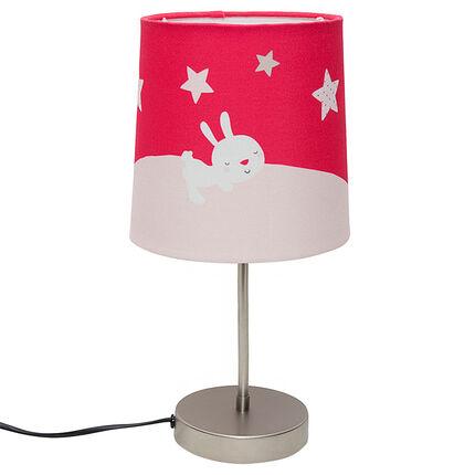 Lámpara de noche con dibujo de conejo