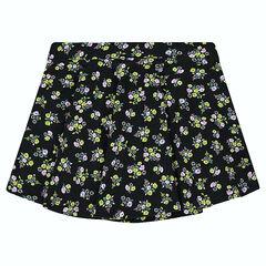Júnior - Falda de punto plisada y estampada