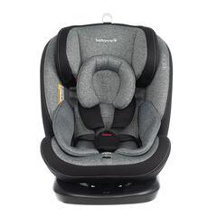 Silla de auto isofix grupo 0+/1/2/3 - Negro Gris , Babycare