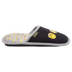 Zapatillas bajas de punto ©Smiley con lazo