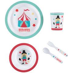 Conjunto para comer Circus - 5 piezas