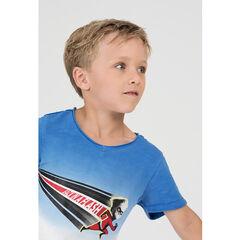 Camiseta de manga corta con efecto tie-dye y superhéroe de ©Disney