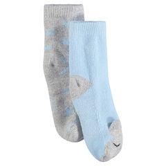 Lote de 2 pares de calcetines con motivo estampados all-over