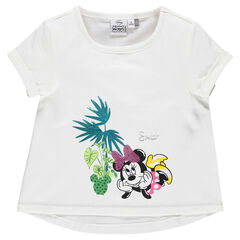Camiseta de manga corta de Disney con Minnie