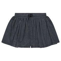 Júnior - Pantalón corto en forma de falda de punto