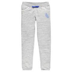Pantalón de muletón gris