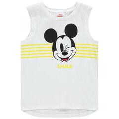 Camiseta sin mangas en algodón orgánico Mickey Disney , Orchestra