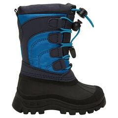Botas de nieve para niño de nylon con protector de caucho y cremallera de la 20 a la 23