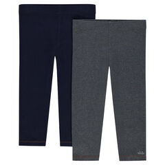Pack de 2 leggings lisos