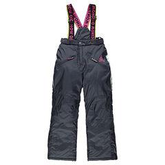 Pantalón de esquí con tirantes desmontables