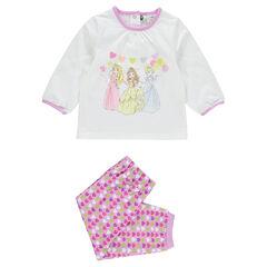 Pyjama en jersey adapté à l'âge print Princesses Disney