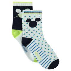 Juego de 2 pares de calcetines variados Disney Mickey