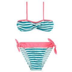 Júnior - Bikini de rayas