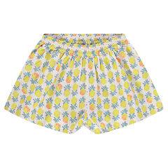 Pantalón corto de piñas