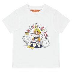 Camiseta de manga corta lisa con estampado de Ruben Nickelodeon™ de la Patrulla Canina