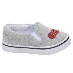 Zapatillas bajas de tela con diseño estampado diferente