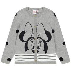 Chaqueta de punto con estampado de Minnie Disney con algodón ecológico