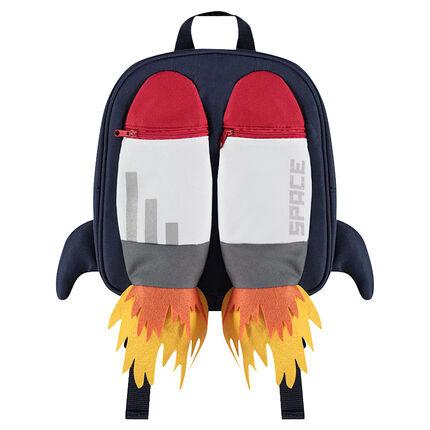 Bolsa para el almuerzo con bolsillos con cremallera