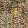 Camisa de popelina con estampado floral