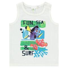 Camiseta sin mangas de punto slub Disney con estampado de Nemo
