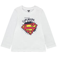Camiseta de manga larga con estampado de Superman