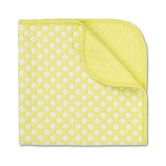 Manta de algodón de puntos 80 x 80 cm