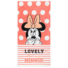 Toalla de playa con lunares y estampado de Minnie Disney