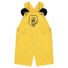 Peto corto de algodón ©Disney con bordados Mickey