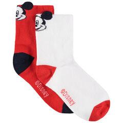 lote de 2 pares de calcetines  Mickey Disney