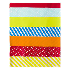 Mantel de cumpleaños con dragón de colores 110 x 180 cm