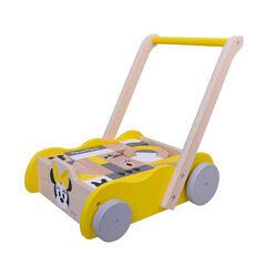 Andador de madera con juego de cubos Minnie , Prémaman