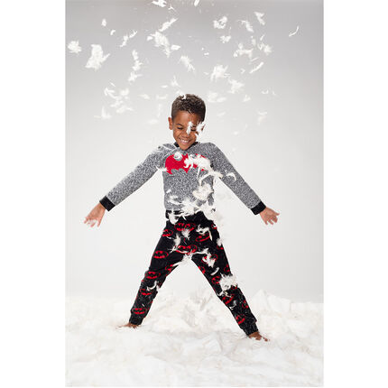 Pijama de tejido polar estampado ©Warner Batman