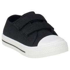 Zapatillas bajas de tela con velcro del 24 al 27