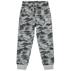 Pantalon de jogging à motif camouflage all-over