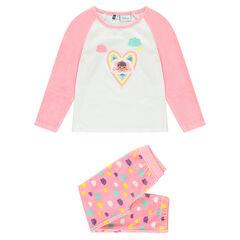 Pijama largo de terciopelo estampado Disney Doctora Juguetes