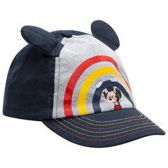 gorra en twill con orejas y print Mickey Disney , Orchestra