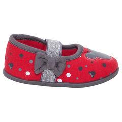 Zapatillas tipo merceditas Disney Minnie