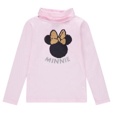 Camiseta interior lisa de punto con Minnie ©Disney de lentejuelas mágicas