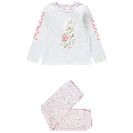 Pijama de terciopelo con estampado de Bella Disney