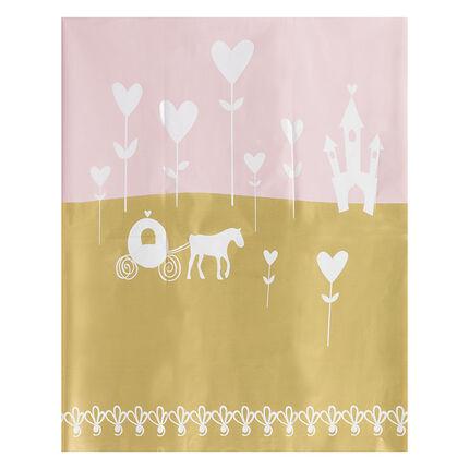 Mantel de cumpleaños con dibujo de fantasía 110 x 180 cm
