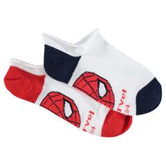 Juego de 2 pares de calcetines cortos ©Marvel Spiderman