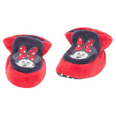 Zapatillas de terciopelo Disney Minnie