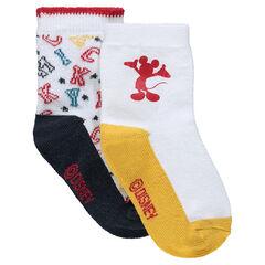 Juego de 2 pares de calcetines Disney Mickey