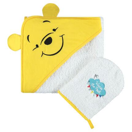 Conjunto de baño de rizo con bordado de Disney Winnie the Pooh