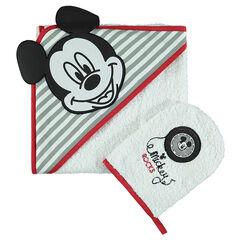 Conjunto de baño de rizo con bordado de Disney Mickey