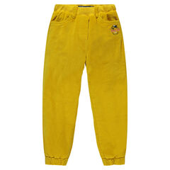 Pantalón de terciopelo con forro de micropolar