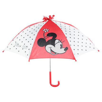 Paraguas con aplicaciones, lunares y estampado Minnie ©Disney