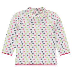Camiseta interior de manga larga con estampado all over